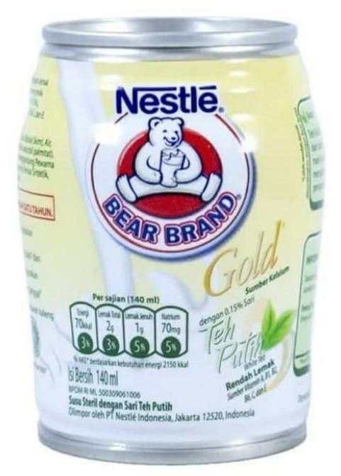 Susu Penurun Berat Badan Bear Brand Gold White Tea