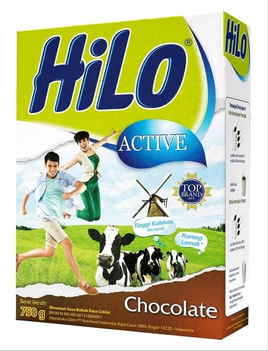 Hilo Aktive Rasa Coklat